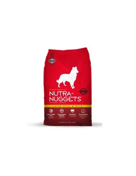 Nutra Nuggets Lamb Meal & Rice - Cordero y Arroz