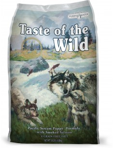Taste of the Wild Pacific Stream Puppy - Salmón Ahumado (Cachorros)