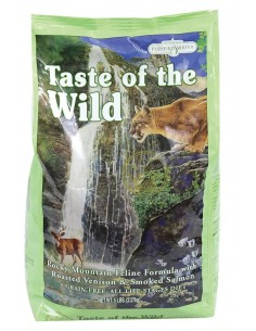 Taste of the Wild Rocky Mountain Feline - Venado y Salmón