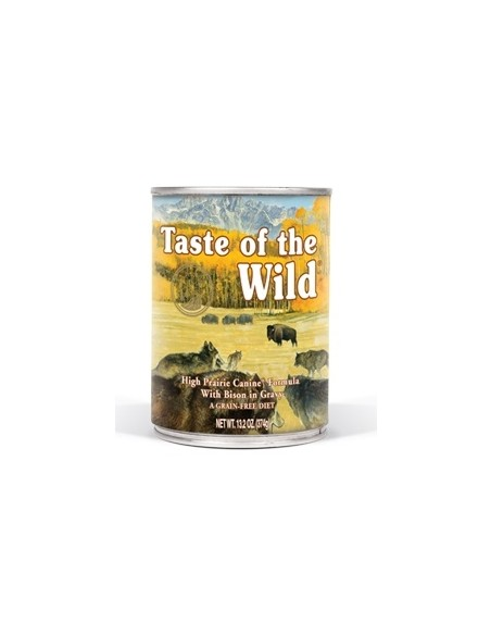 Taste of the Wild High Prairie Canine - Lata Bisonte y Venado