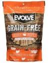 Evolve Snakcs Grain free Jerkys Turkey (Para todas las edades – Libre de granos– Pavo)