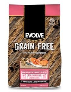 EVOLVE GRAIN FREE SALMON (Para todas las edades –Salmon Libre de Granos)