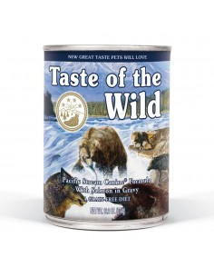 Taste of the Wild Pacific Stream Canine - Lata Salmon Ahumado