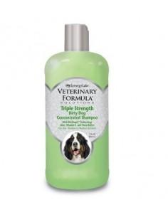 Shampoo Veterinary Formula Solutions - Triple Acción